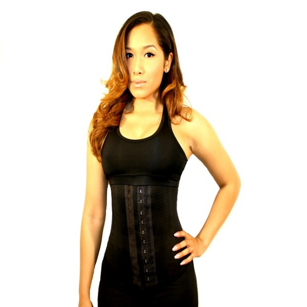 4 Hook Cotton Blend Latex Waist Cincher