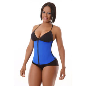Clip & Zipper Long Sport Waist Cincher