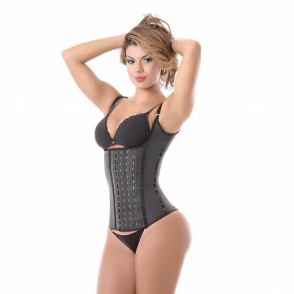 4 Hook Thin Strap Adjustable Extreme Latex Vest